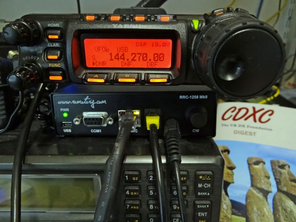 Remote FT857D head