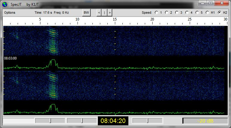 SM5EPO unusual doppler