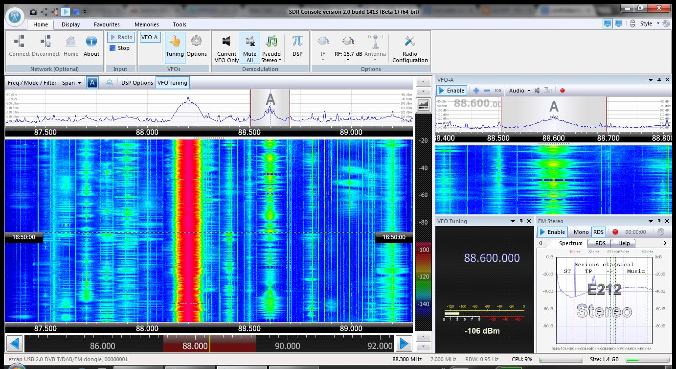 Band 2 Es signals, from Spain